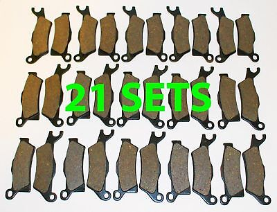 21 Sets Front and Rear Brake Pads Can-Am Outlander 1000 2012