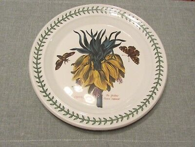 "Retired Botanic Garden 10"" Plate. Yellow Crown Imperial"