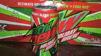 Mountain Dew Holiday Brew - 12 pack of unopened cans