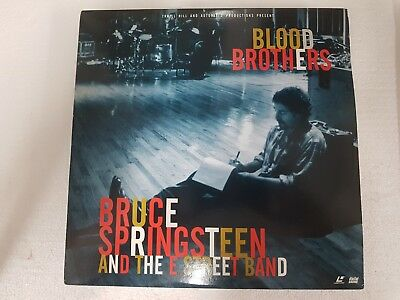 Video Laserdisc Musicale : Bruce Springsteen Blood Brothers English