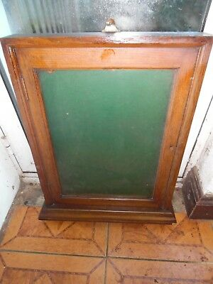 Antique Oak Gothic Church/country House Hotel/village Hall Notice Board