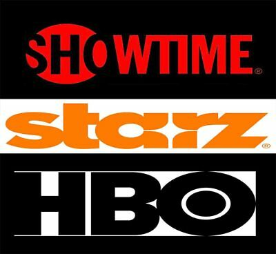 Showtime | Starz | Hbo Bundle -  ALL 3 FOR A LOW PRICE | 6 MONTH WARRANTY