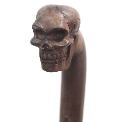 Walking Stick - Skull - Swaggering Cane, Steampunk,  Walking aid, wicca