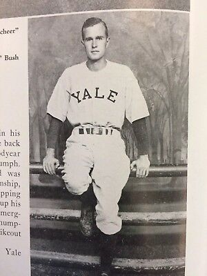 Yale Yearbook With George Bush, 1948.