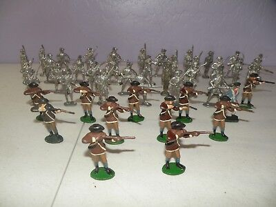 metal toy soldiers american revolution for gaming or collecting 2.25 inches tall