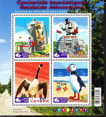 "Canada - ""BIRDS ~ ROADSIDE ATTRACTIONS"" MNH MS 2010 !"