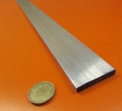 "6061 T651 Aluminum Bar, 1/4"" (.250"") Thick x 1 3/4"" Wide x 24"" Length, 2 pcs"