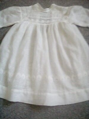 vintage .victorian baby dress .beautifull embroidery