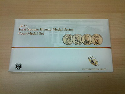 2011 FIRST SPOUSE BRONZE MEDAL-4 Medals Set / Same Day Shipping!!