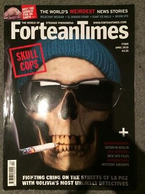 Fortean Times Issue 260 April 2010 Skull Cops