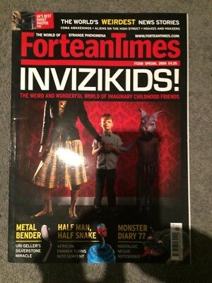 Fortean Times Magazine Special Issue 250 2009 Invisikids!