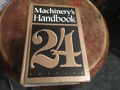 Machinery's Handbook - 24 Edition