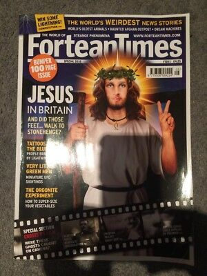 Fortean Time Magazine Special Issue 261 2010 Jesus In Britain