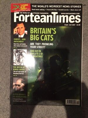 Fortean Times Magazine Issue 224 July 2007 Britain's Big Cats