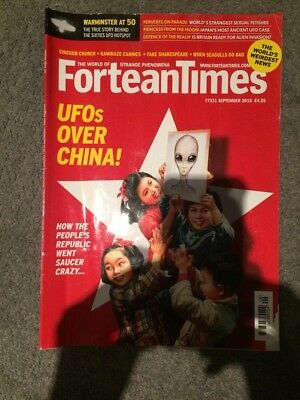 Fortean Times Magazine Issue 331 September 2015 UFOs Over China
