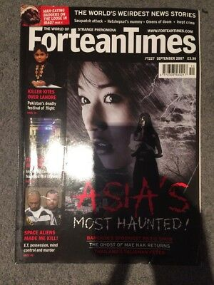 Fortean Times Magazine Issue 227 September 2007 Asia's Most Haunted