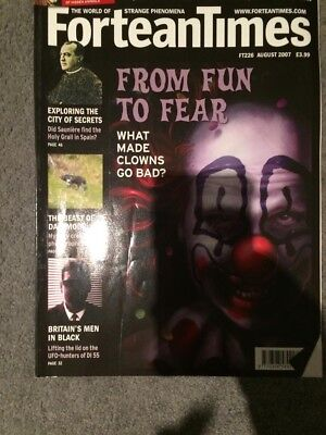 Fortean Times Magazine Issue 226 August 2007 From Fun To Fear
