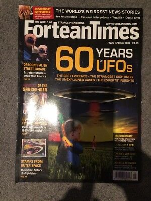 Fortean Times Magazine Special Issue 225 2007 60 Years Of UFOs