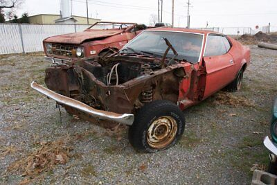 1971 Ford Mustang  1971 Mustang Fastback Project Car 302 V8 NO RESERVE Boss 351 429 Cobra Clone