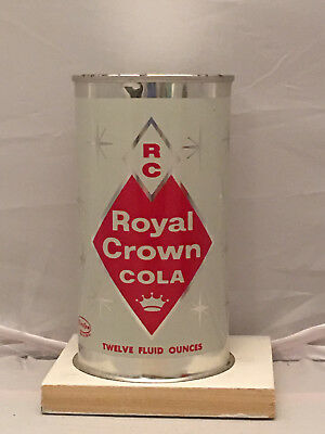 RC Cola factory Sample soda can from the 1950's