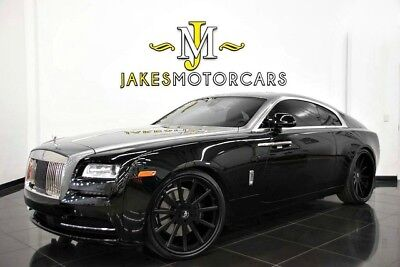 2014 Rolls-Royce Wraith ~$358,350 MSRP~ CANADEL WOOD~ WRAITH PKG! ROLLS ROYCE WRAITH~$358,350 MSRP!~ ONE-OF-A-KIND!~FACTORY TWO-TONE~ CANADEL WOOD
