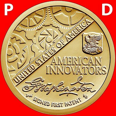 2018 P&d Set American Innovation Introductory Dollars Uncirculated Coins