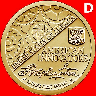 2018-D American Innovation Introductory Dollar Uncirculated Single Coin