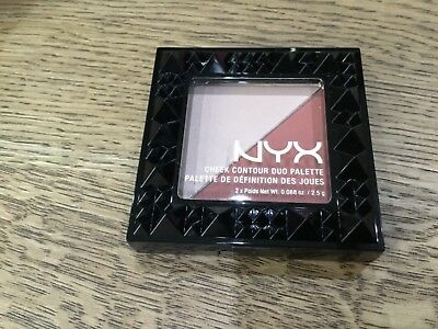 NYX Blusher Cheek Contour Duo blush duo palette ginger and pepper  CHCD06