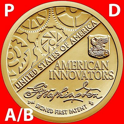 2018 P&d A&b American Innovation Introductory Dollar Uncirculated Coin