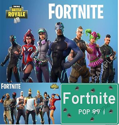 3 x Fortnite Posters ( 1x A2 & 2 x A3) TRIPLE PACK CHRISTMAS DEAL for price of 1