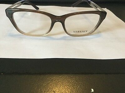 62a2990fa61e6 Authentic Versace Eyeglasses VE3220 COLOR 5165 BROWN FADE Frames 54mm Rx -ABLE