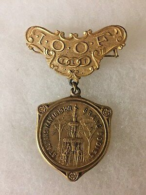 IOOF St Albans May 16-19 1911 Grand Bodies Medal