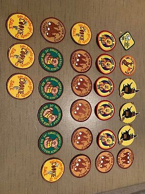 Lot Of 27 Girl Scout patches