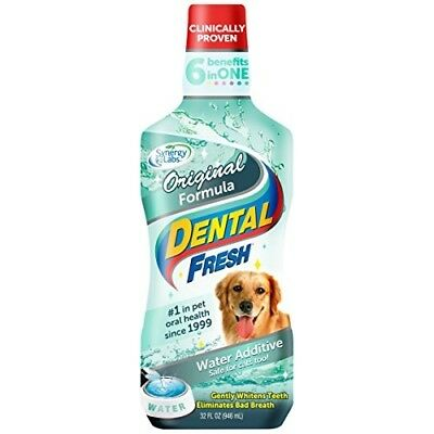 NEW Dental Fresh Water Additive  Original Formula for Dogs 32 oz FREE SHIPPING