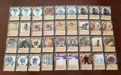 Blood Wars TSR CCG 50 Rare Chase Cards from Base Set NEAR MINT