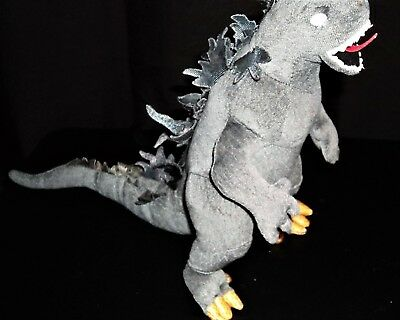 TY Beanie Babies Godzilla Japan white eyed version no tag