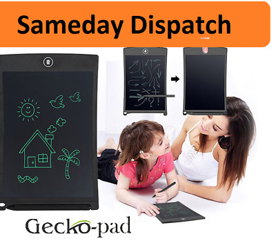 """Gecko-Pad 8.5"""" Electronic Digital LCD Writing Pad Tablet Drawing Graphics Board"""