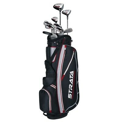Callaway Mens Strata 12-Piece Complete Golf Set with Bag Left Handed