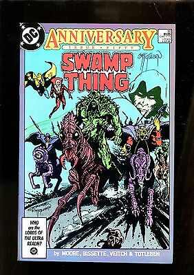 SWAMP THING 50 (9.2) AUTO TOTLEBEN W/ COA 1ST FULL JUSTICE LEAGUE DARK (s003)