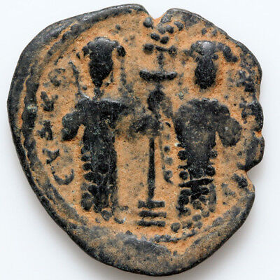 Anonymous Byzantine Coin Ae 27 Follis Constantine X Constantinople 1059-1067 Ad