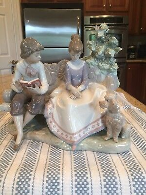 Lladro 5442 Poetry Of Love - Mint Condition