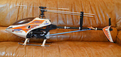 Thunder Tiger Raptor 30 3D Nitro Helicopter  Complete ARF Very Good Condition.