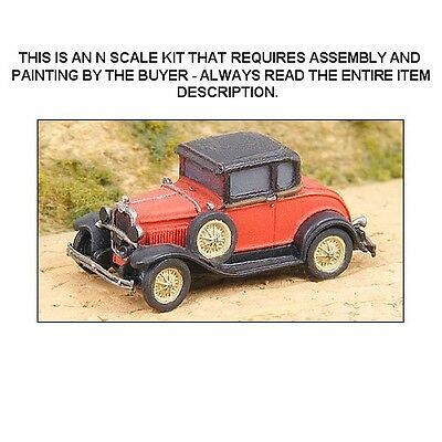 N Scale: 1930 Ford Model A 2-Door - Ghq Kit #57004
