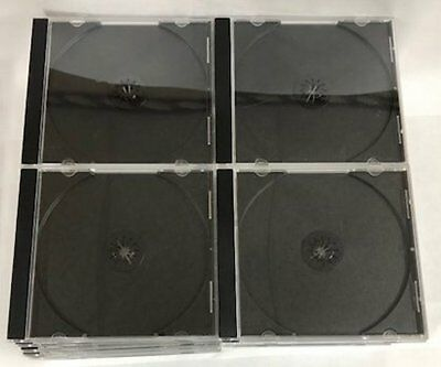 40 Jewel Cases 1Cd-Dvd Case Clear Insert Original-Free Priority Shippiing