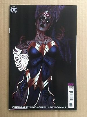 Wonder Woman #57 Cover B Jenny Frison Variant Sold Out! Nm