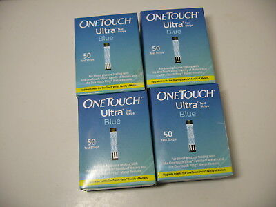 FRESH SEALED One Touch Ultra Blue Diabetic Test Strips OneTouch Blood Glucose US