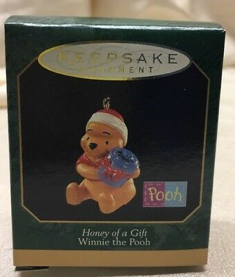 Honey Of A Gift hallmark ornament winnie the pooh miniature HM1