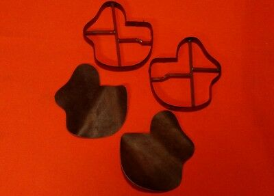"""Leather Tool - Pair Of CLICKER DIES For Making A Pancake Holster - 6 1/2"""" x 6"""""""