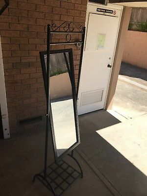 Hallway Mirror With Shoe Rack - Used