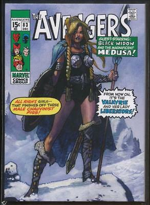 2018 Marvel Masterpieces What If? Trading Card #WI-3 Valkyrie /1499